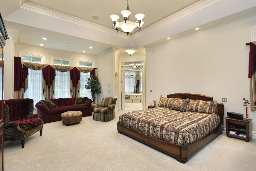Toskańska sypialnia