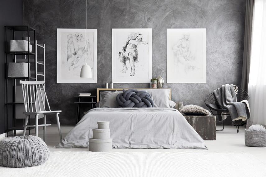 Designerska sypialnia
