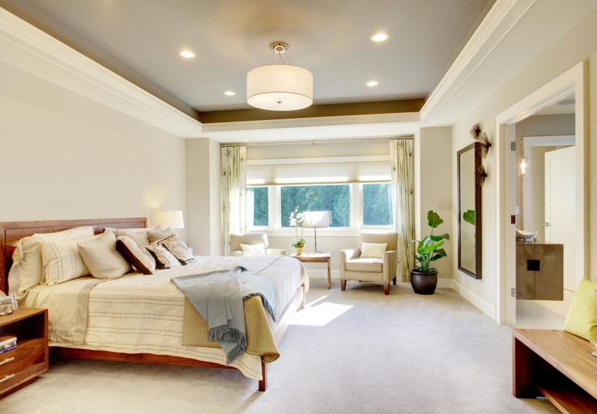 Przestrzenna sypialnia