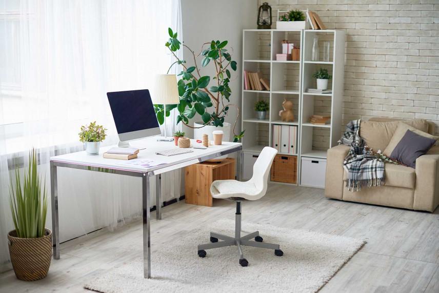 Lekkie, nowoczesne biurko