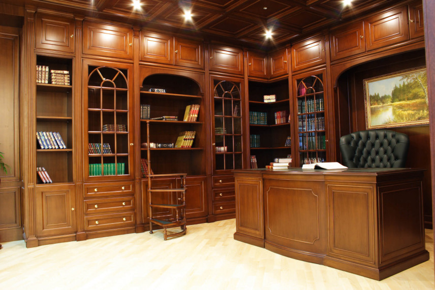 Duże biuro, gabinet