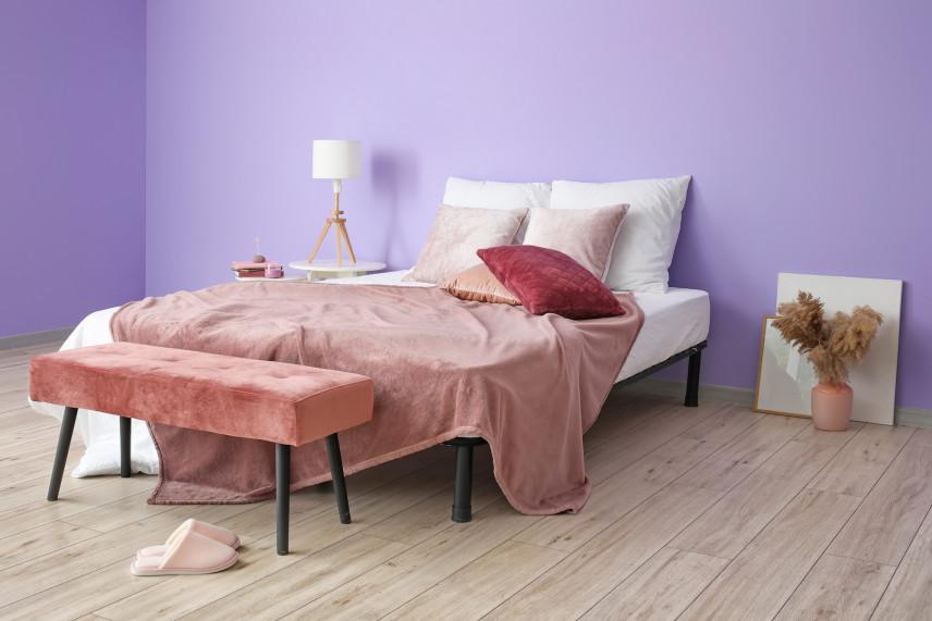 Łóżko w stylu loft