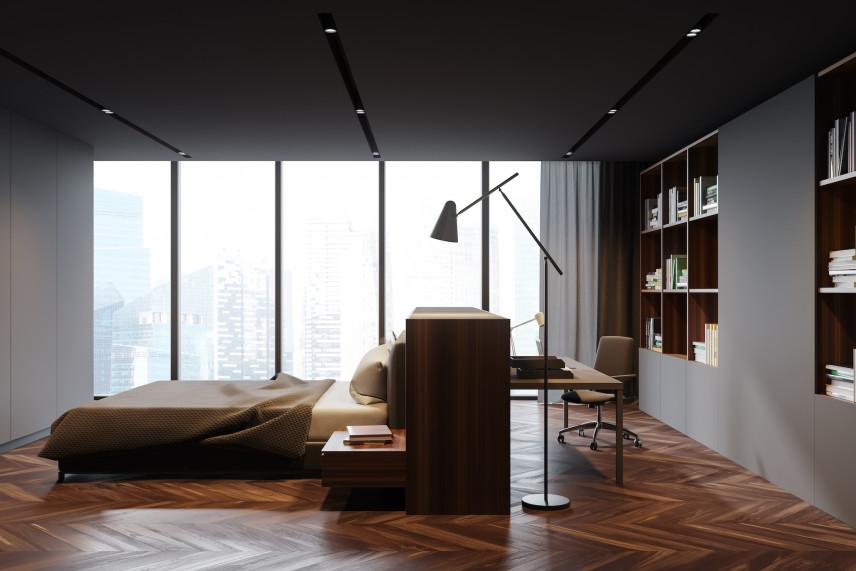 Pomysł na biblioteczkę w ścianie
