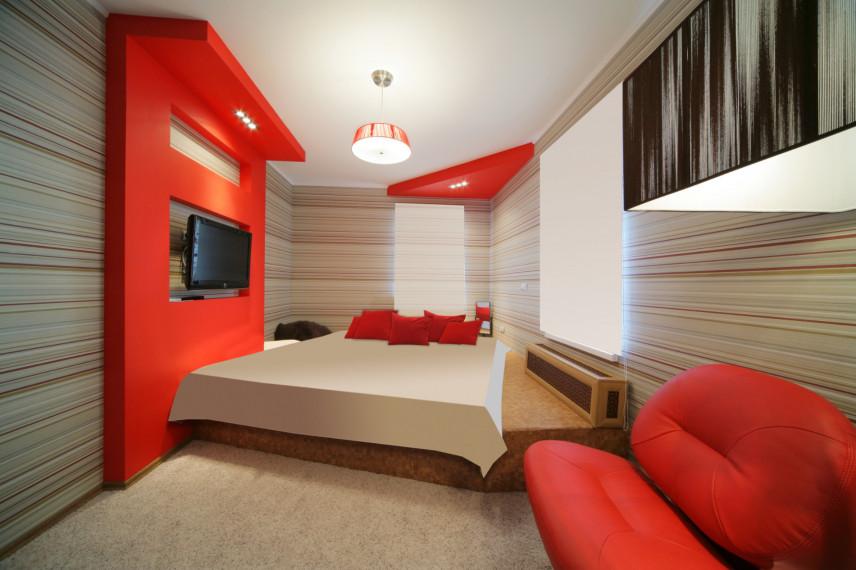 Projekt małej sypialni w bloku