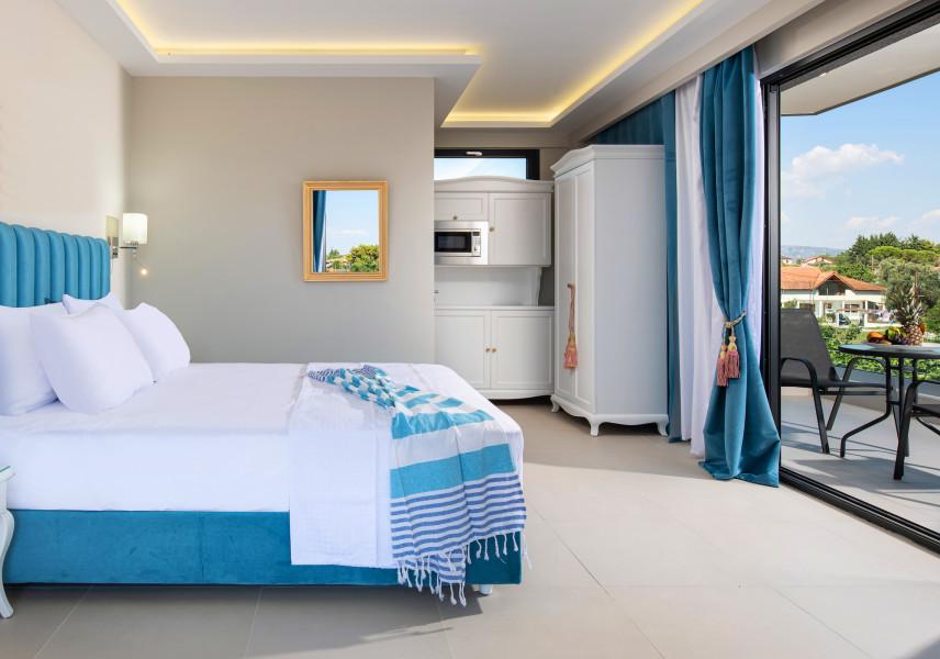 Projekt sypialni w stylu marynistycznym