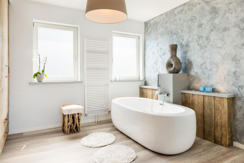 Łazienka z wanną okrągłą