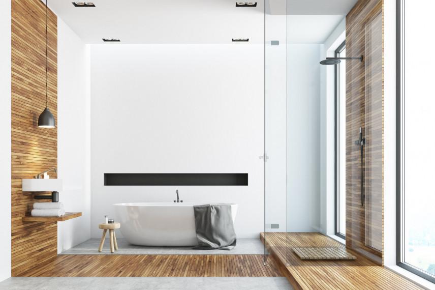 Stylowa łazienka w stylu skandynawskim