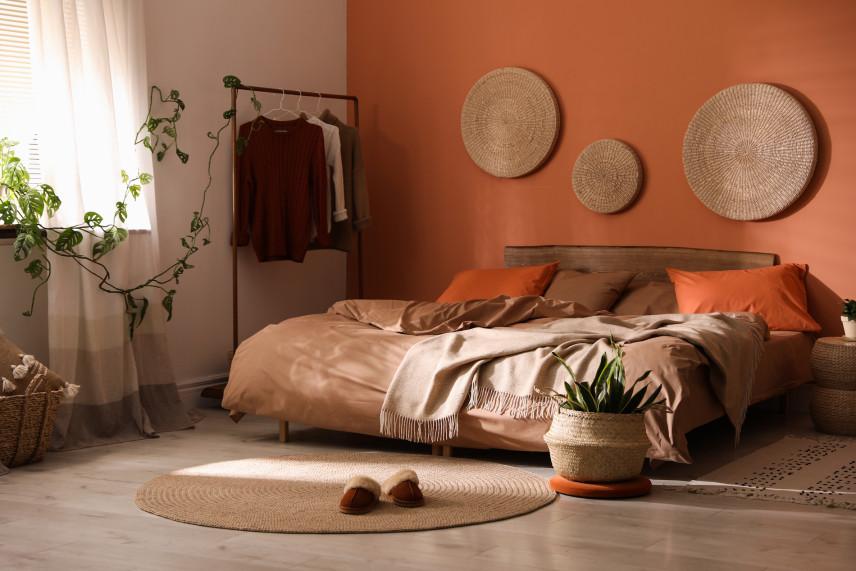 Pomarańczowe ściany
