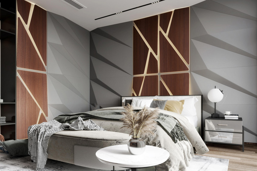 Projekt modnej sypialni