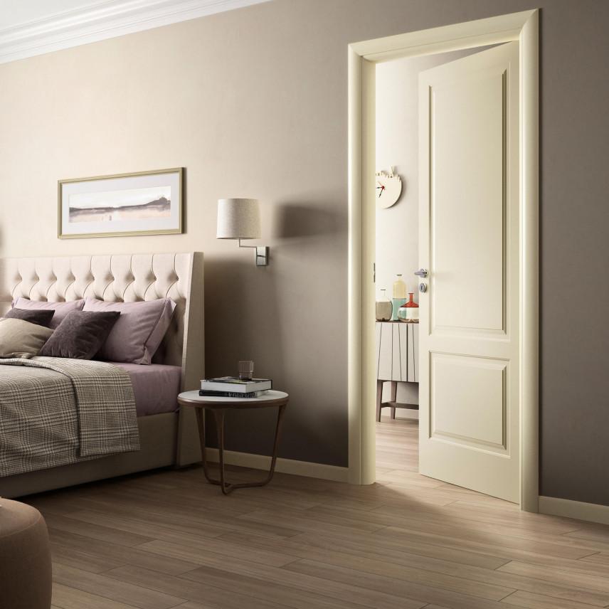 Lampka na ścianie w sypialni
