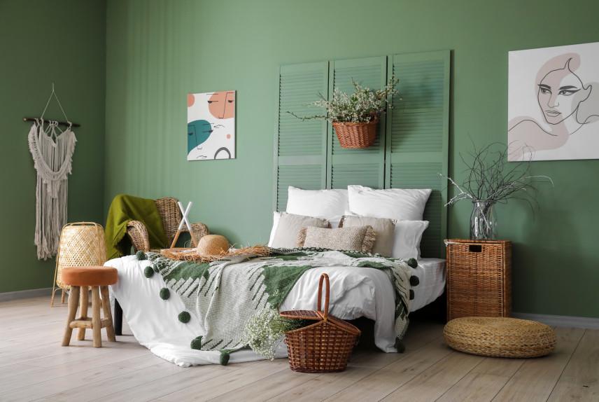 Kolor ścian zielony