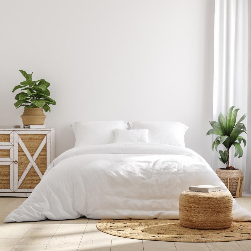 Aranżacja sypialni w bieli