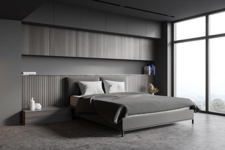 Aranżacja ściany za łóżkiem w sypialni