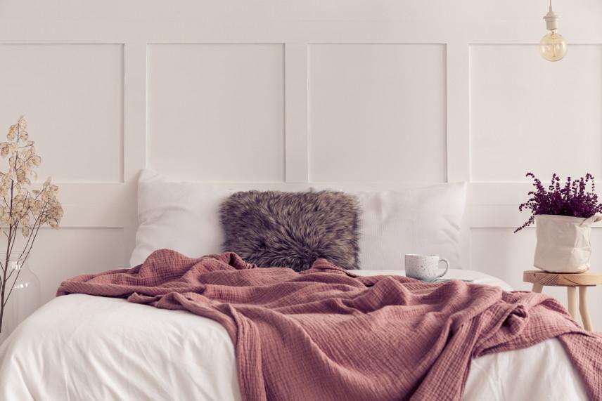 Pomysł na aranżacje łóżka kontynentalnego
