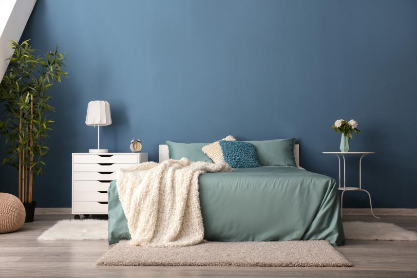 Kolor ścian niebieski
