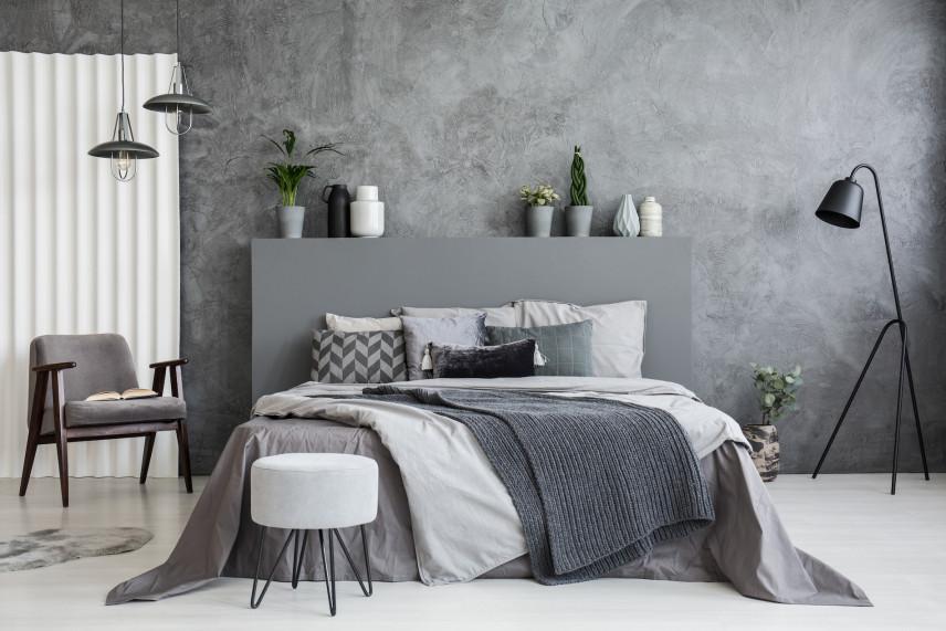 Betonowa ściana jako najnowszy trend