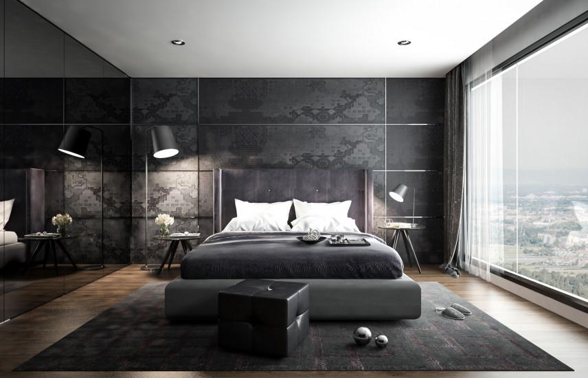 Sypialnia na ostatnim piętrze w bloku