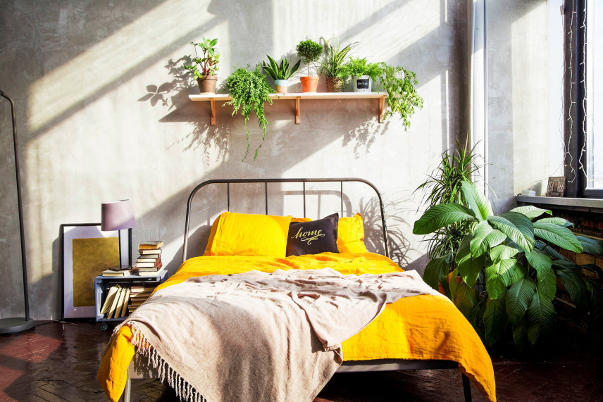 Sypialnia z dawnych lat