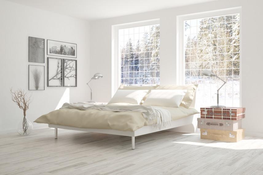 Pomysł na sypialnie w kolorze białym
