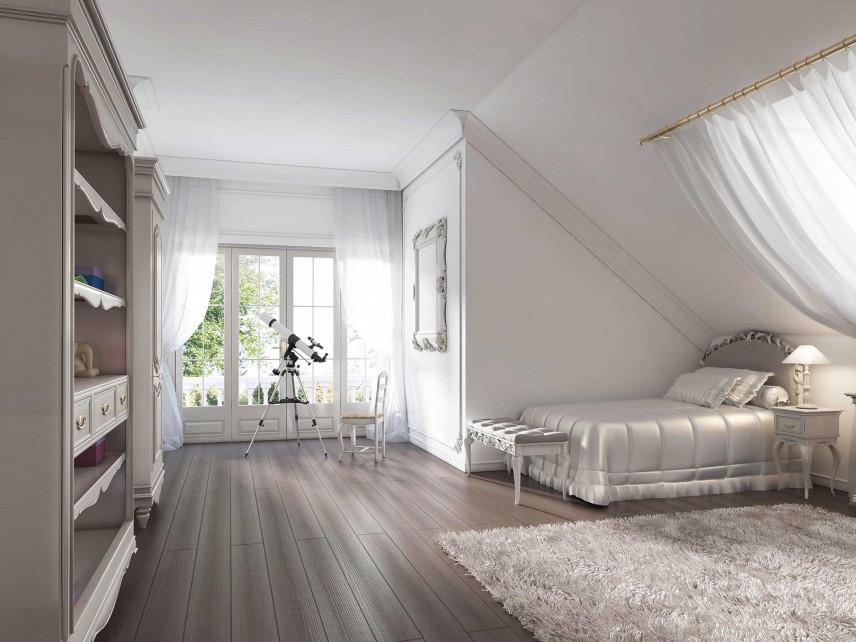 Pokój dla dziecka w stylu glamour