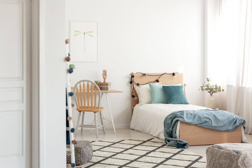 Pokój nastolatka w stylu skandynawskim