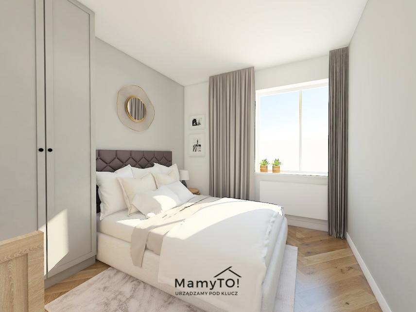 Projekt sypialni dla rodziców i dla dziecka