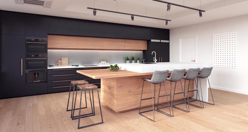 Kuchnia w stylu loft