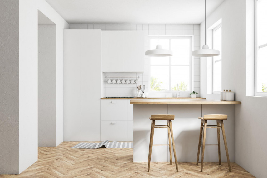 Projekt kuchni w stylu skandynawskim