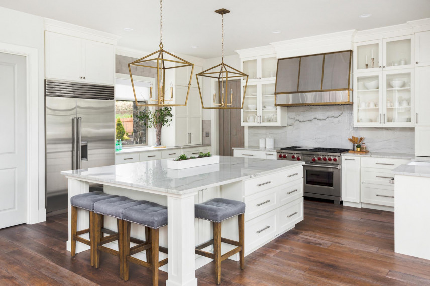 Designerskie lampy wiszące w kuchni