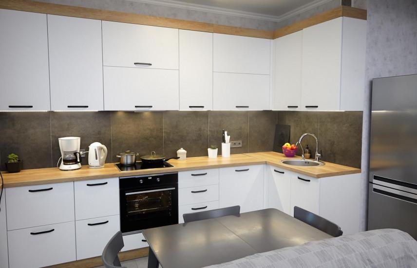 Aranżacja kuchni w kształcie litery L