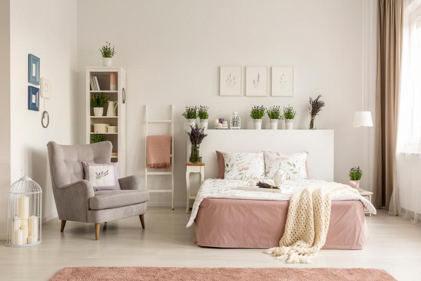 Jasna, przytulna sypialnia