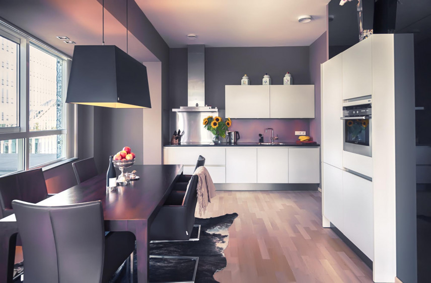 Projekt nowoczesnej kuchni