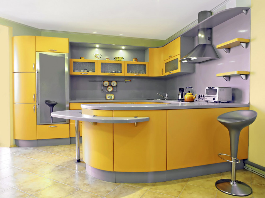 Aranżacja kuchni kolorowej
