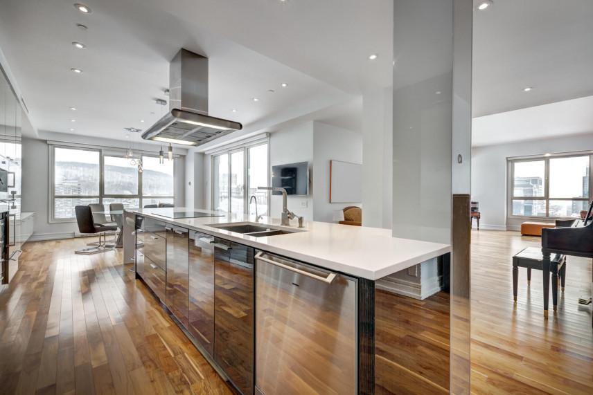 Aranżacja designerskiej kuchni