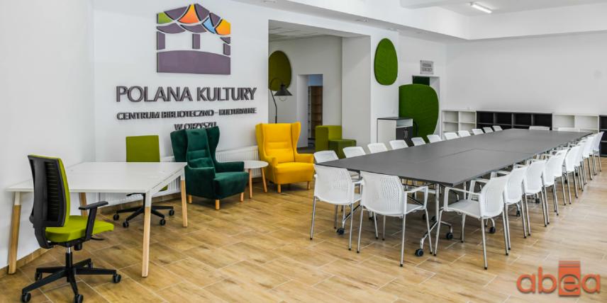 Projekt biblioteki w Orzyszu