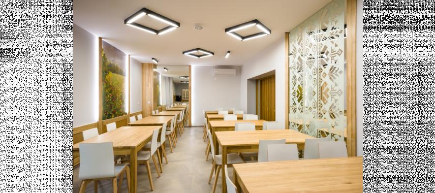 Projekt przestrzennego pomieszczenia biurowego