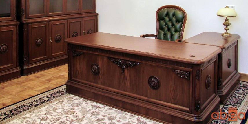 Aranżacja biura w stylu klasycznym
