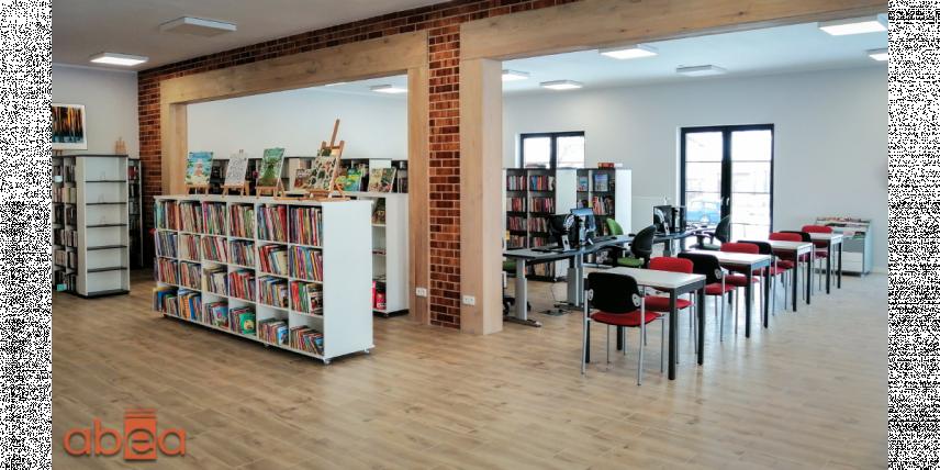 Aranżacja biblioteki
