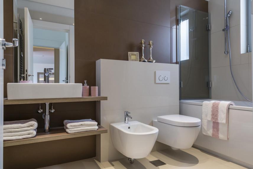 Projekt łazienki z bidetem