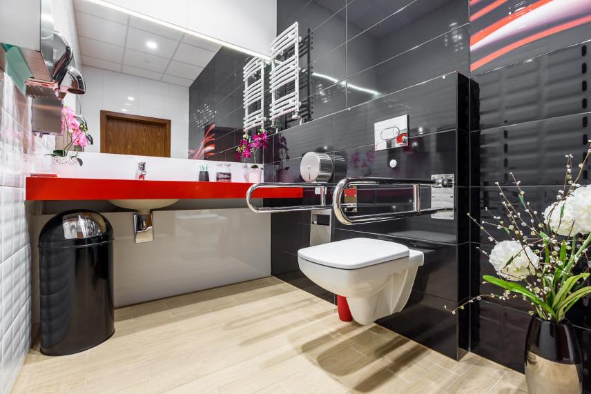 Projekt łazienki dla osoby niepełnosprawnej