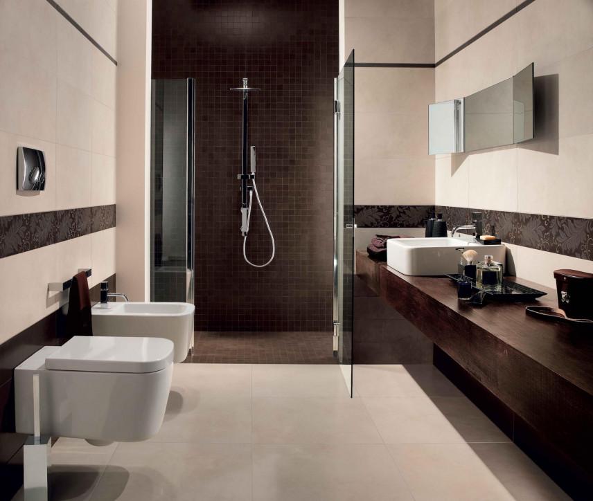 Klasyczna aranżacja łazienki