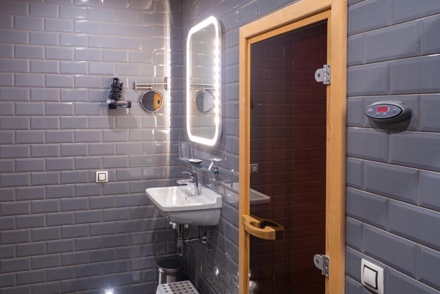 Mała, klasyczna łazienka