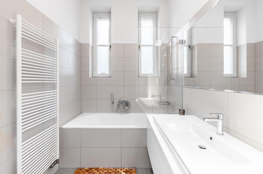 Klasyczny projekt łazienki