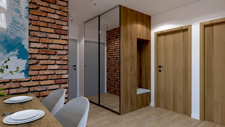 Małe wejście do mieszkania