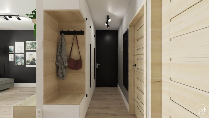 Długi, wąski korytarz