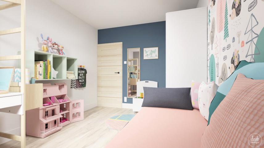 Projekt pokoju dla dziewczynek