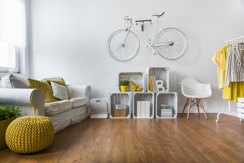 Designerski pokój dla nastolatka.