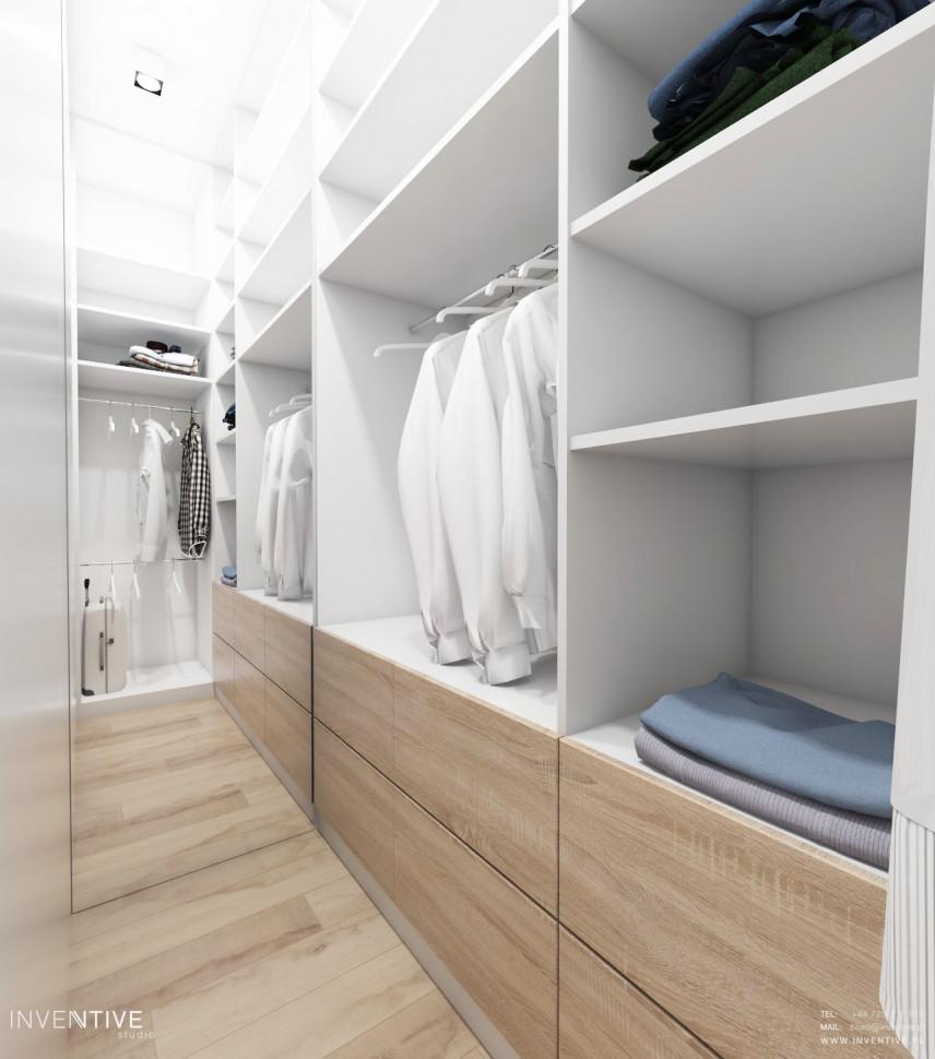 Garderoba w stylu skandynawskim