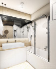 Projekt łazienki w stylu loft