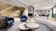 Stylowy salon z elementami Art Deco